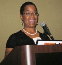 President Eboni Johnson